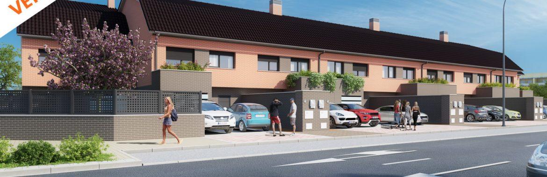 Entrega de llaves de la promoción Residencial El Valle, en Vallecas, Madrid
